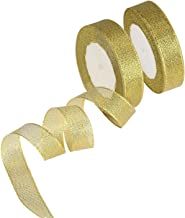 Best christmas ribbon gold Reviews