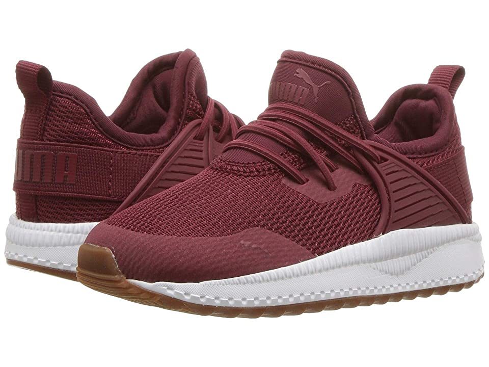 Puma Kids Pacer Next Cage AC Inf (Toddler) (Pomegranate/Pomegranate) Boys Shoes