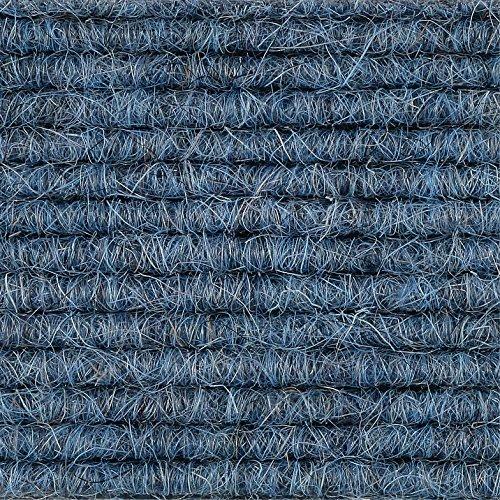 Teppichboden Auslegware | Tretford Interland | 200 cm Breite | blau 514 | Meterware, verschiedene Größen | Größe: 1,5 x 2m