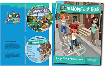 Deep Blue Connects at Home With God Large Group/Small Group Kit Spring 2019: Ages 6 & Up