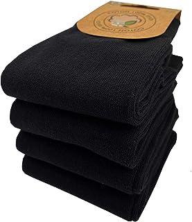 Calcetines para mujer, algodón orgánico, lote de 4 pares