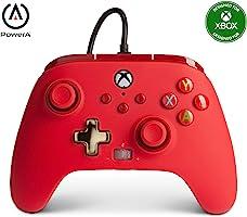 Control alámbrico rojo para Xbox One & Series X S - Standard Edition