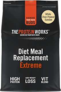 THE PROTEIN WORKS Diet Meal Replacement Extreme | Seen On This Morning ITV | Nutritionally Complete Meal | Immunity Boosti...