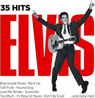 35 Hits Elvis, Blue Suede Shoes, Rip It Up, Tutti Frutti, Hound Dog, Love Me Tender, Surrender, Too Much, It's Now or Never, Don't Be Cruel