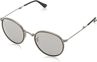 RB3517 Round Folding Metal Sunglasses