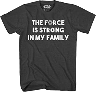 Star Wars The Force is Strong in My Family T-Shirt