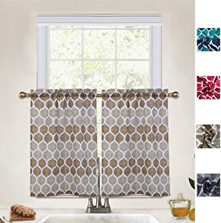 Best rod pocket tier curtains Reviews