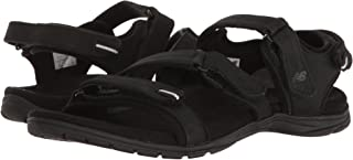 (ニューバランス) New Balance メンズランニングシューズ?スニーカー?靴 Maya Leather Sandal Black ブラック 7 (25cm) B