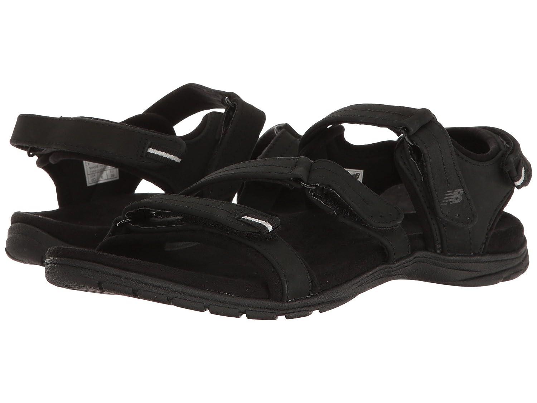 (ニューバランス) New Balance メンズランニングシューズ?スニーカー?靴 Maya Leather Sandal Black ブラック 11 (29cm) D