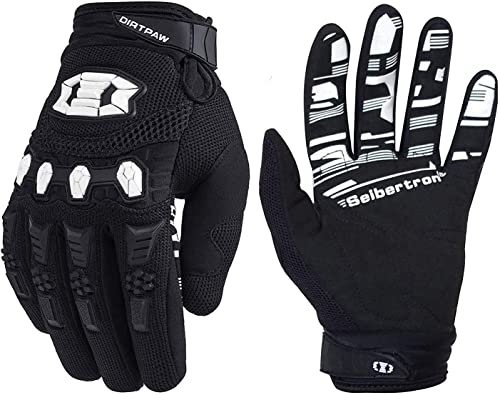Seibertron Dirtpaw Unisex BMX MX ATV MTB Racing Mountain Bike Bicycle Cycling Off-Road/Dirt Bike Gloves Road Racing M...