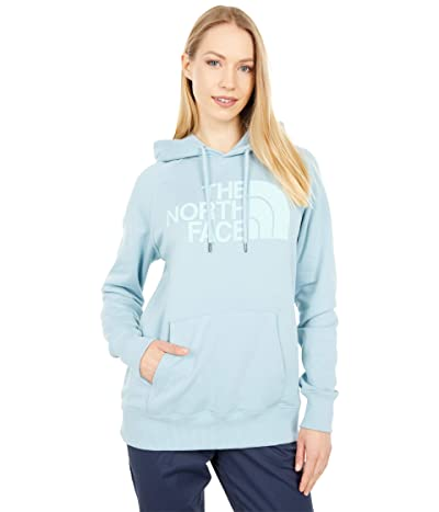 The North Face Half Dome Pullover Hoodie (Tourmaline Blue) Women