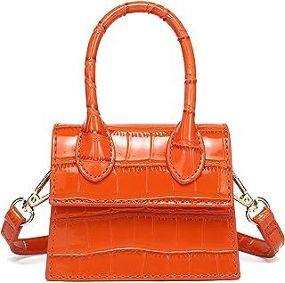 محفظة صغيرة للنساء من كاTMICOO، حقائب صغيرة عصرية وحقيبة يد صغيرة مع نمط التمساح