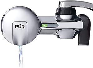 PUR (PFM400H) شیر افقی Chrome Chrome با فیلتر MineralClear ، Chrome