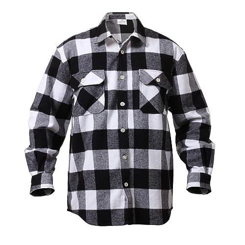 a7699cba Rothco Extra Heavyweight Buffalo Plaid Flannel Shirts