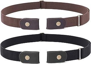 No Buckle Stretch Belt for Women Men Buckle-Free Adjustable Belt for Jeans