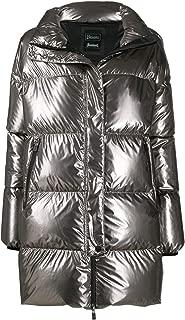 Herno Luxury Fashion Womens PI087DL122928000 Silver Down Jacket | Fall Winter 19