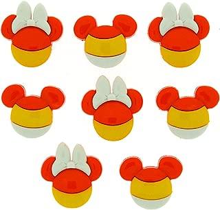 Dress It Up 7923 Disney Button & Embellishments, Mickey & Minnie Candy Corn
