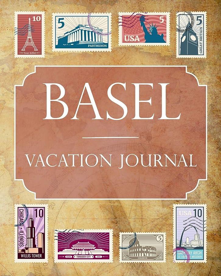 気になる友だち洗練Basel Vacation Journal: Blank Lined Basel Travel Journal/Notebook/Diary Gift Idea for People Who Love to Travel