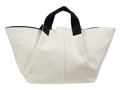 AllSaints Clarendon East West Tote (Warm White) Handbags