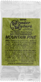 Wonder Wafers 3100 Mountain Pine Scent Car Truck Air Freshener Wafer - 25 Pack