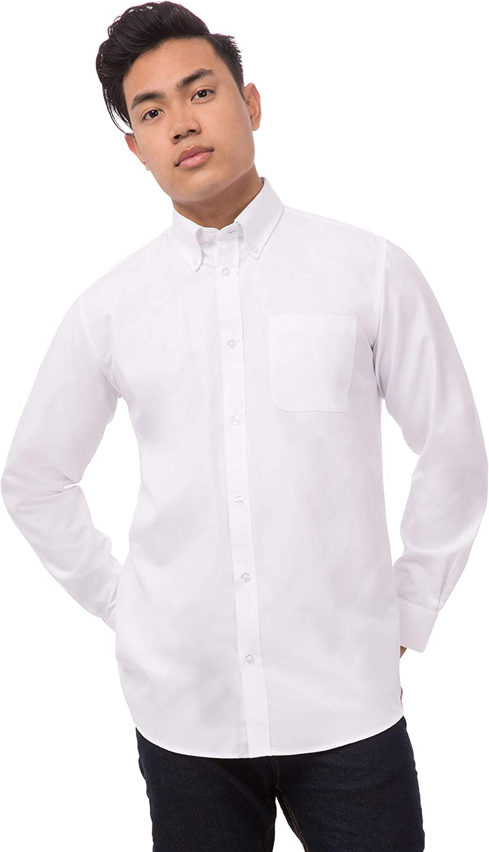 Chef Works Men's Uniforms Men's Long Oxford Dress Shirt