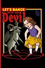 Let's Dance with the Devil: 100 Pages  6 X 9 Notebook Magick Journal. Magic gift, Spell Book Journal (Blank, Wide Lines) For Daily Rituals, ... Magick Work. (Funny Witchcraft for beginners)