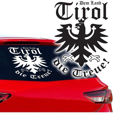 Tirol Aufkleber Süd Tiroler Adler Deutscher Alpen 25cmx25cm A4989 Auto