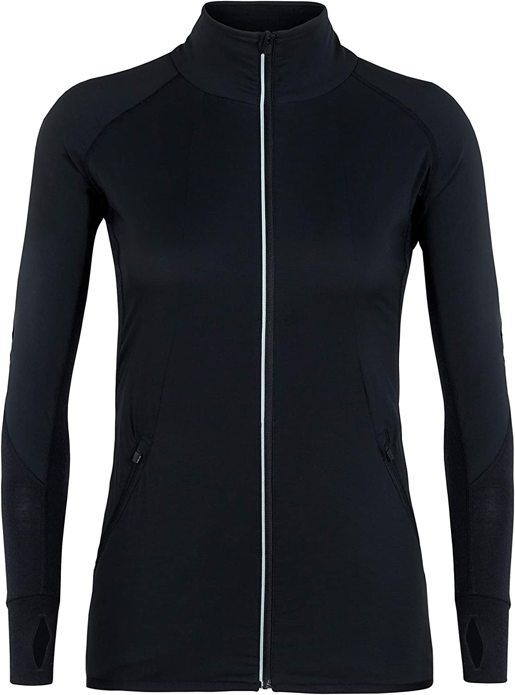 Icebreaker Merino Women's Tech Trainer Hybrid Jacket, Merino Wool