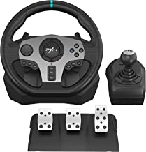 PXN V9 Gaming Racing Wheel, PC Steering Wheel with Pedals and Shifter for Xbox One, Xbox Series X/S, PS4, PS3, Nintendo Sw...