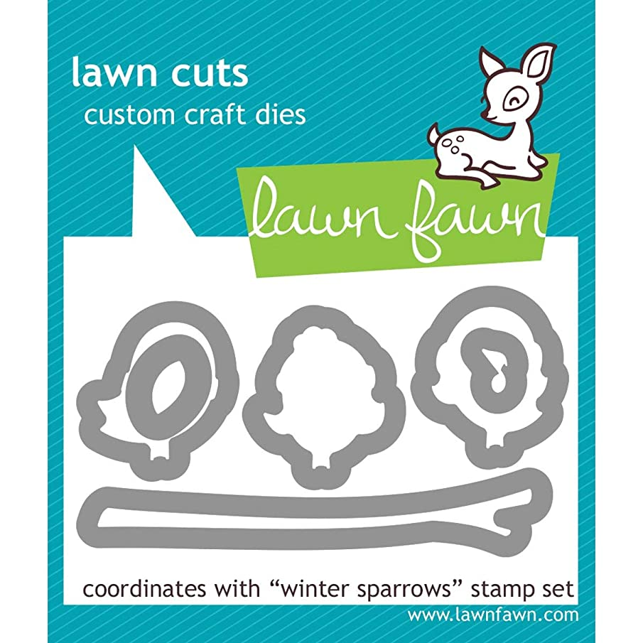 Lawn Cuts Custom Craft Die-winter Sparrows