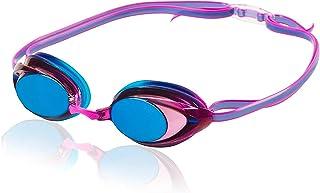 عینک شناور بانوان Speedo Vanquisher 2.0 Mirrored Swim عینک ، پانوراما ، ضد تابش خاموش ، ضد مه با محافظت در برابر اشعه ماوراء بنفش