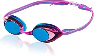Speedo Women's Vanquisher 2.0 Mirrored Swim Goggles,...