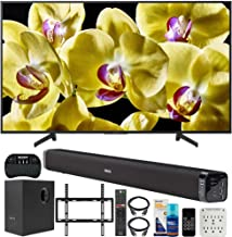 $2468 » Sony XBR-75X800G 75-inch 4K UHD LED Smart TV (2019) Bundle with Deco Gear 60W Soundbar with Subwoofer, Deco Mount Flat Wall Mount Kit, Wireless Keyboard, Screen Cleaner and 6-Outlet Surge Adapter