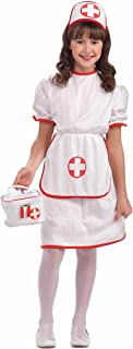 Forum Novelties Classic White Nurse Costume, Child Small