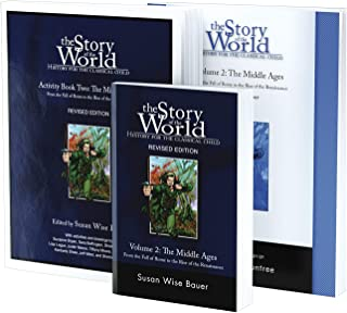 Story of the World, Vol. 2 Bundle: History for the Classical Child: The Middle Ages; Text, Activity Book, and Test & Answe...