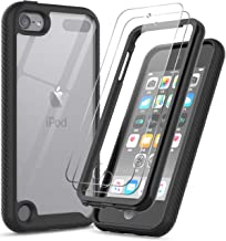 iPod Touch 7 Case, iPod Touch 6 Case with Tempered Glass Screen Protector [2 Pack], LeYi..