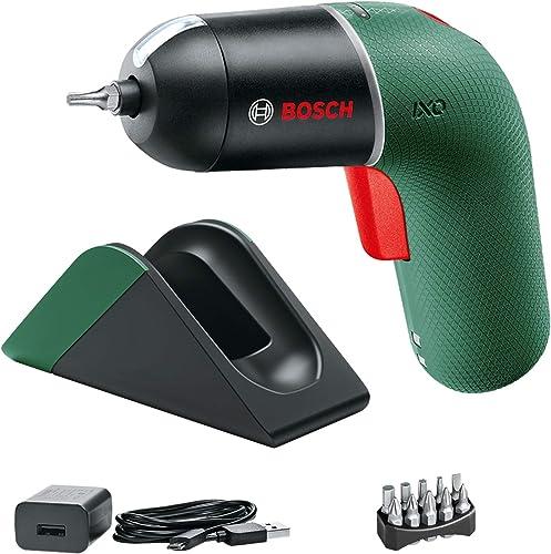 Bosch atornillador a batería IXO Set con estación de carga, 6.ªgeneración,verde,CONTROL DE VELOCIDAD variable,recarga...