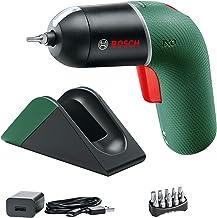 Bosch Accuschroevendraaier IXO Set met Micro-USB oplaadstation plus oplaadkabel (6e generatie, groen, variabele toerentalr...