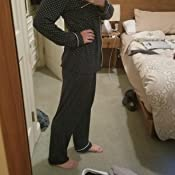 Details about  /Alfani Jacquard Long Sleeve Pajama Set 221030H237 Dark Heather Grey XL or Large