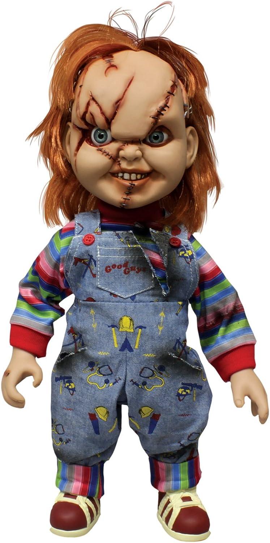ordenar ahora Mezco Mezco Mezco Juguetes - Figura Chucky de 38 cm con Accesorios (NE78000)  los últimos modelos