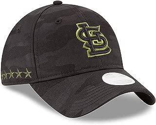 Women 's Authentic St. Louis Cardinals Memorial Day 9TWENTY Adjustable Hat - Black/Camo