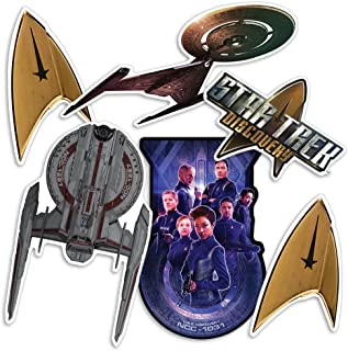 Popfunk Star Trek Discovery Collectible Stickers