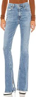 Citizens of Humanity Georgia High Rise Bootcut Women's Designer Denim Jeans - in Taboo wash