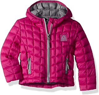 Girls' Active Packable Hooded Jacket with Glacier Shield