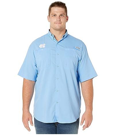 Columbia College Big Tall North Carolina Tar Heels Collegiate Tamiami II Short Sleeve Shirt