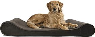 تختخواب سگ Furhaven Pet | میکرو مخملی ارتوپدی Micro Velvet ارگونومیک Luxe Lounger Cradle Bedding Contour Pet Bed w / Cover قابل جابجایی برای سگها و گربه ها - در رنگ ها و سبک های مختلف موجود است