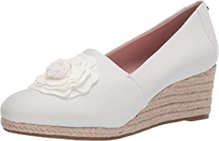 Taryn Rose Women's Slip on Pump, White, 9.5