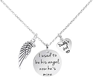 dad guardian angel necklace