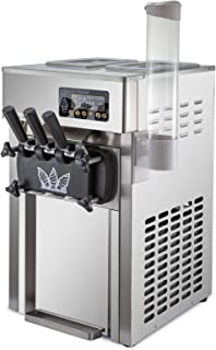 SucceBuy Machine à Crème Glacée Enfant Professionnel Sorbetière à Glace Ice Cream Machine (A168)