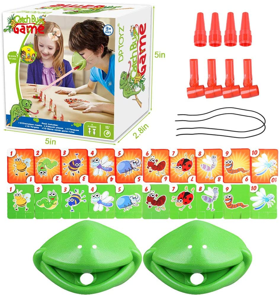 Catch Bugs Game 6 7 5 Kids Games Games for Kids Ages 4-8 for Christmas Birthday Gifts 9 Family Board Games for Kids Ages 4 10 Year Old Boys Girls 8